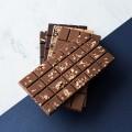 Dark Chocolate Caramelized Almonds