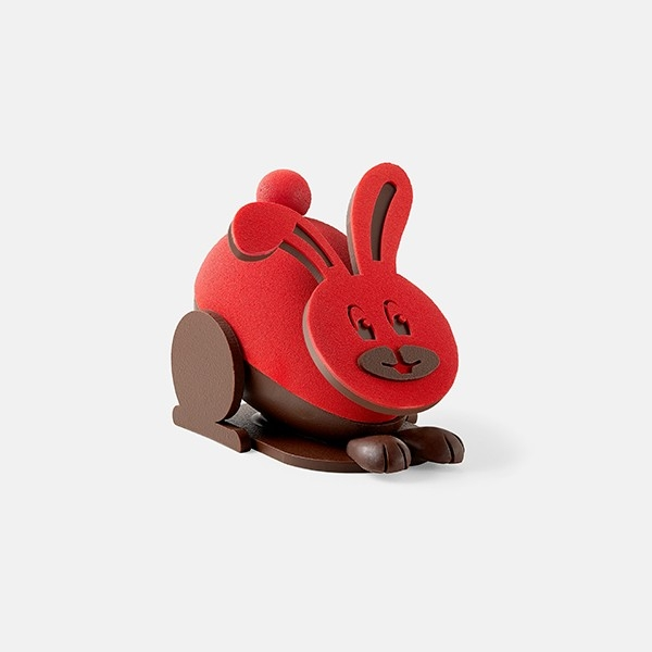 Red Hop Hop Hop Rabbit