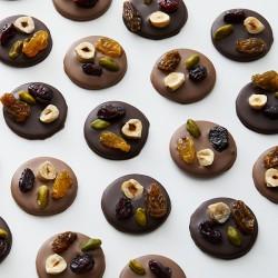 Mendiants dark & milk chocolate