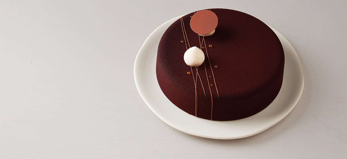 Milk chocolate and passion fruit