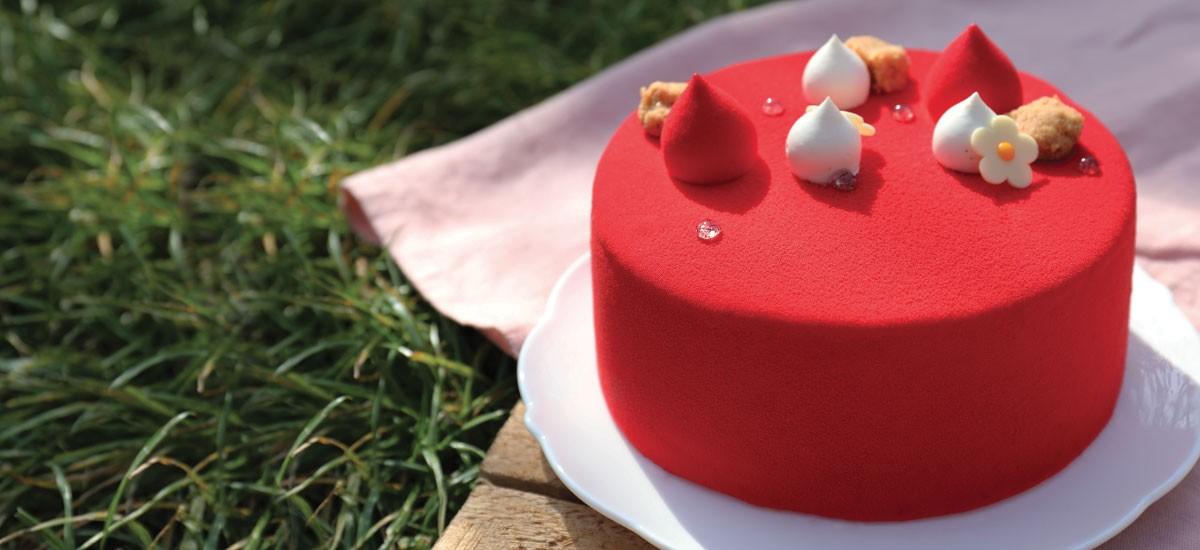Strawberry Cake La Pâtisserie Cyril Lignac